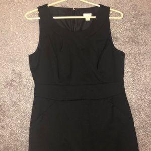 JCrew classic black dress